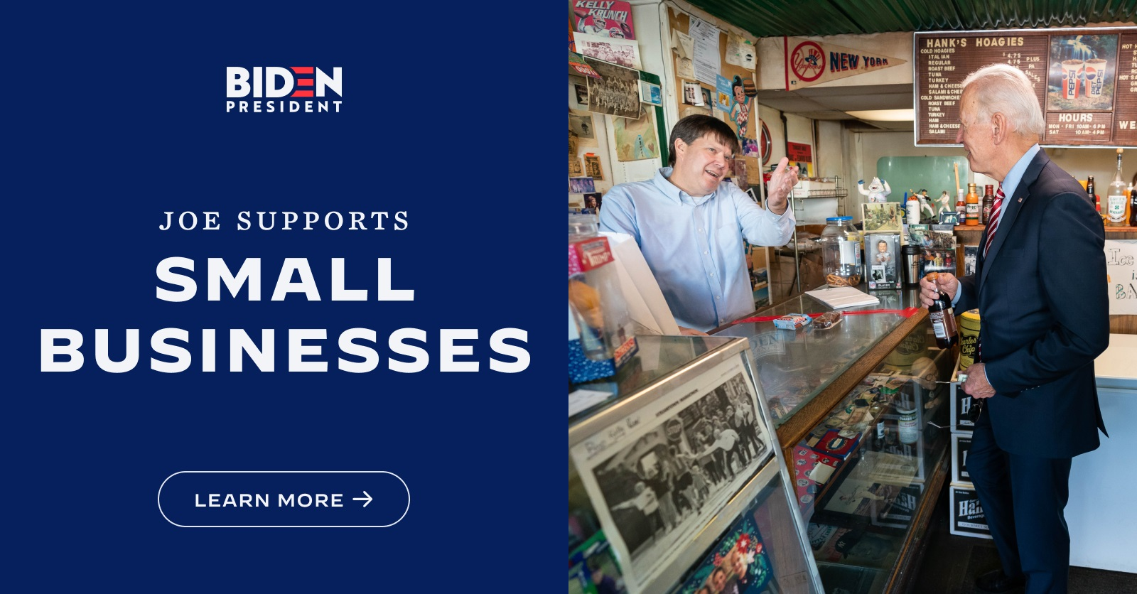 Joe Biden Small Business