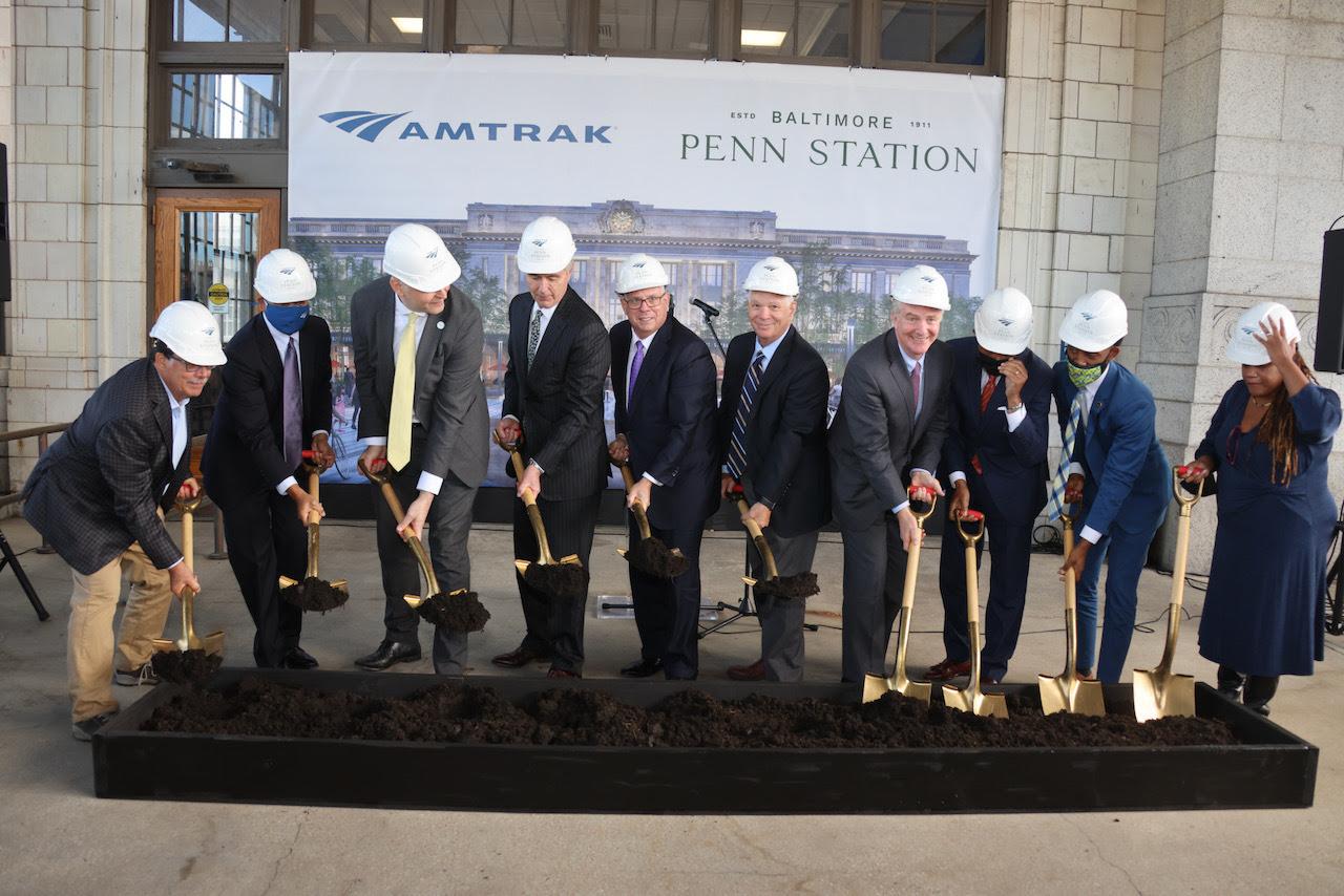 Baltimore Penn Station Groundbreaking